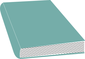free vector Closed Book clip art
