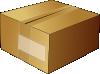 free vector Closed Carton Box clip art