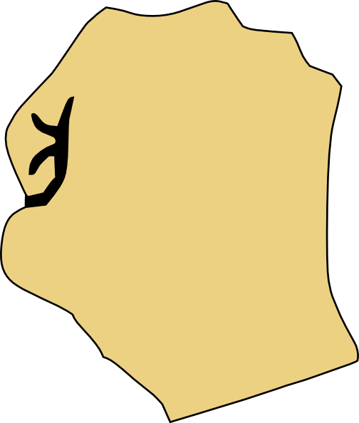 free vector Closed Fist clip art