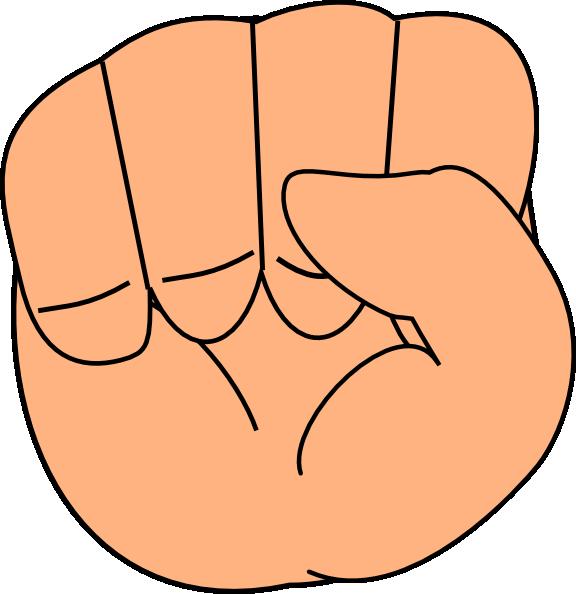 free vector Closed Hand clip art