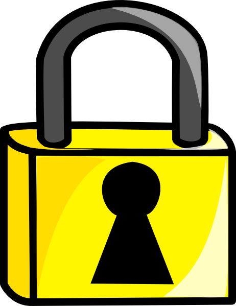 free vector Closed Lock clip art