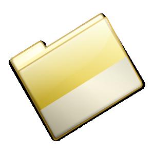 free vector Closed Simple Yellow Folder clip art