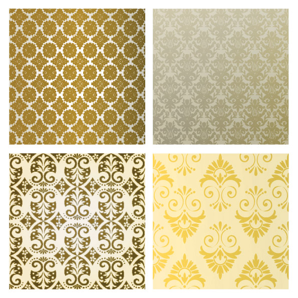 free vector Cloth pattern vector background
