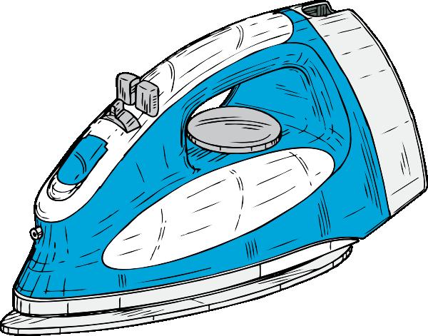 free vector Clothes Iron clip art