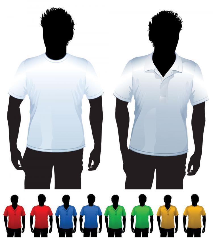 free vector Clothes template 24 vector