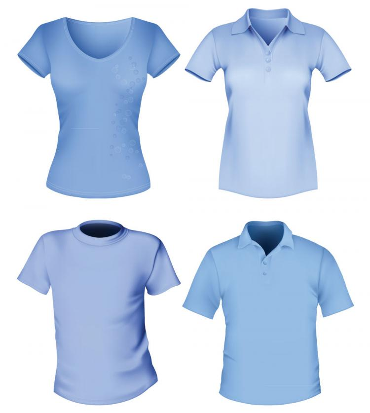 free vector Clothes templates 07 vector