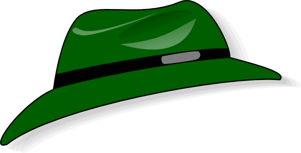 free vector Clothing Green Hat clip art