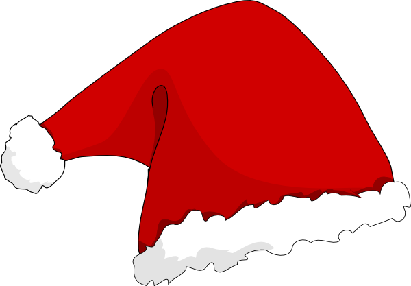 free vector Clothing Santa Hat clip art