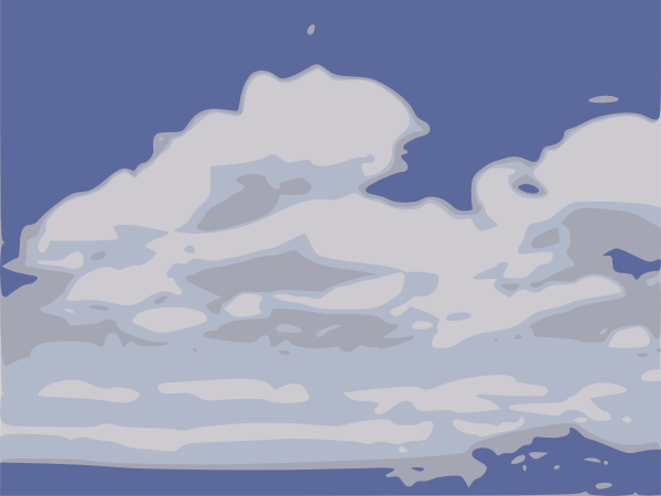 free vector Clouds clip art