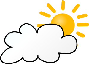 free vector Cloudy Weather clip art