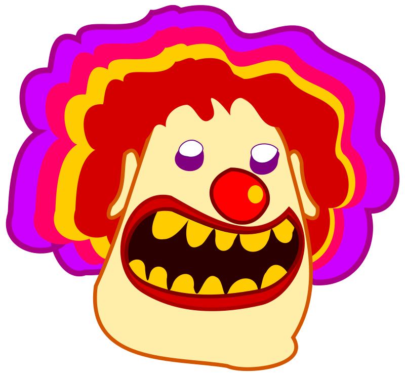 free vector Clown / payaso