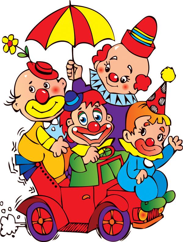 free vector Clowns u0026amp carnival vector