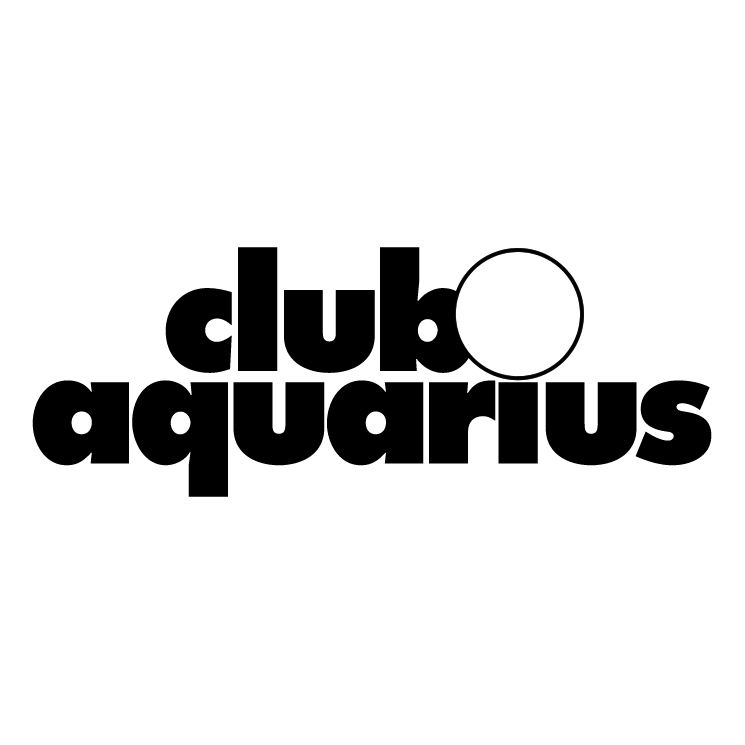 free vector Club aquarius