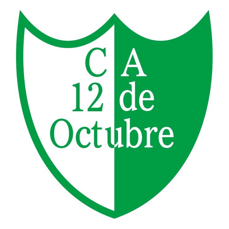 free vector Club atletico 12 de octubre de benavidez