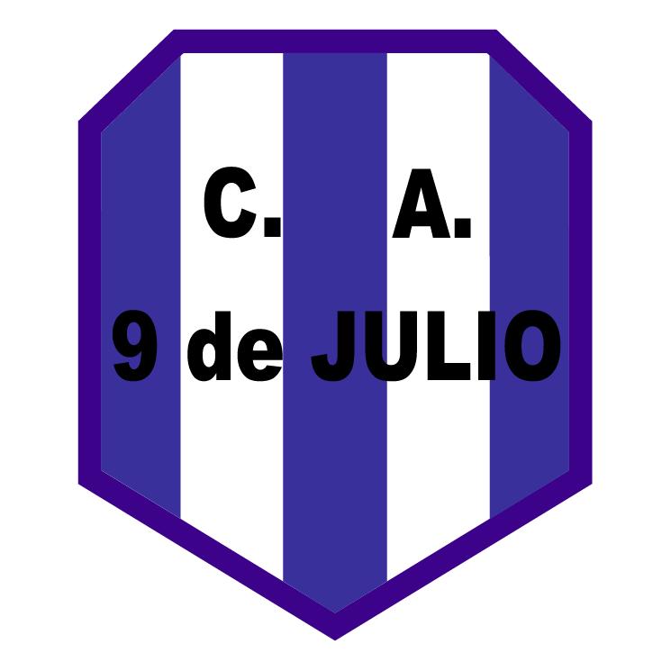 free vector Club atletico 9 de julio de manuel ocampo