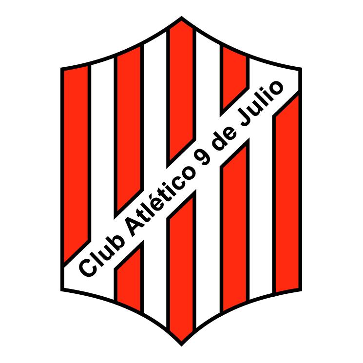 free vector Club atletico 9 de julio de rafaela
