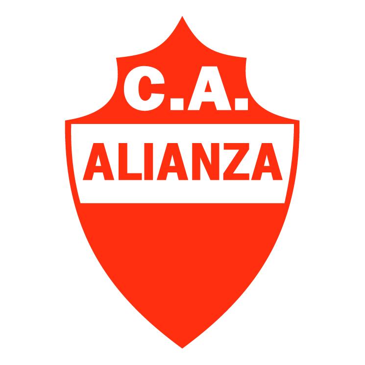 free vector Club atletico alianza de arteaga