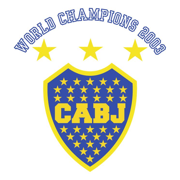 free vector Club atletico boca juniors 1