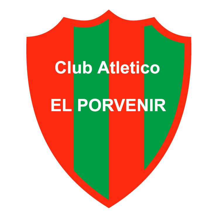 free vector Club atletico el porvenir de mercedes