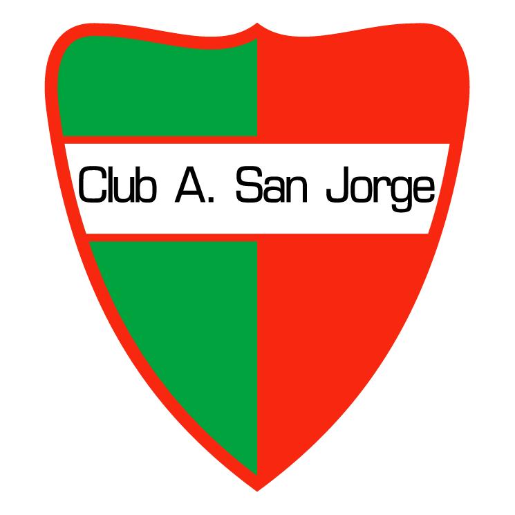 free vector Club atletico san jorge de san jorge