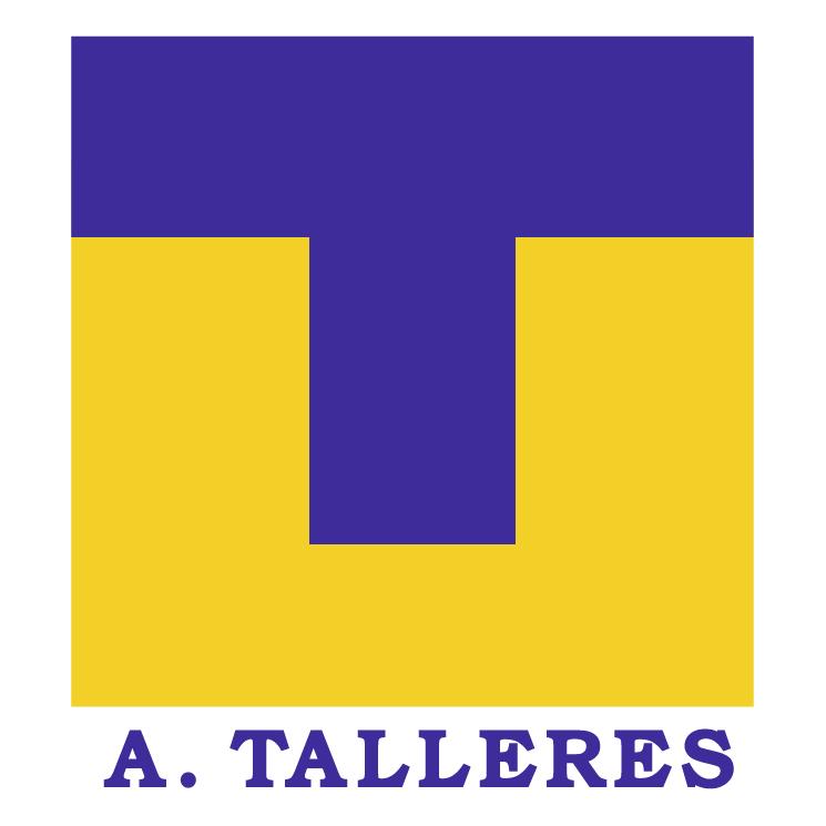 free vector Club atletico talleres canadon seco de caleta olivia