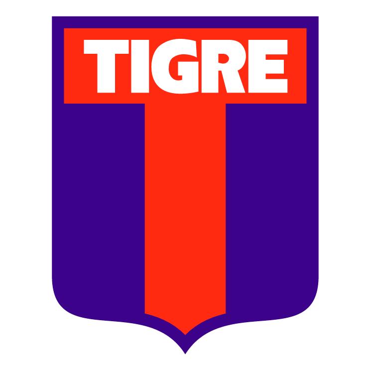 free vector Club atletico tigre de santo pipo