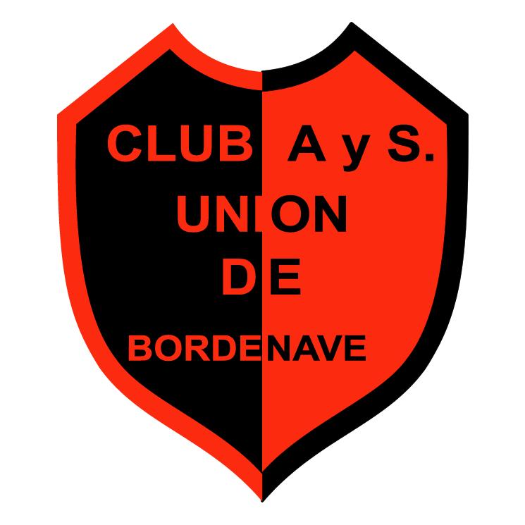 free vector Club atletico y social union de bordenave