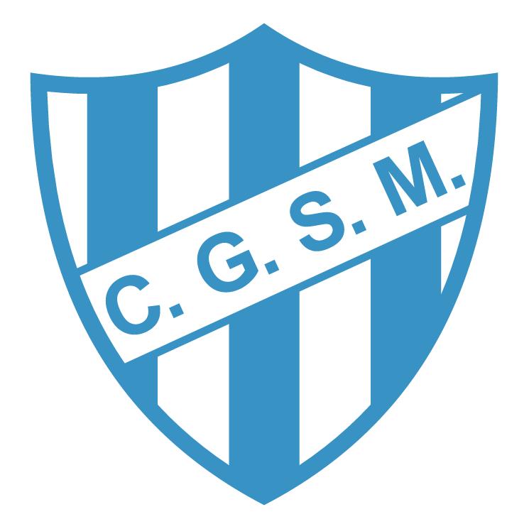 free vector Club general san martin de villa mercedes