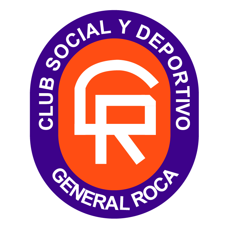 free vector Club social y deportivo general roca de general roca