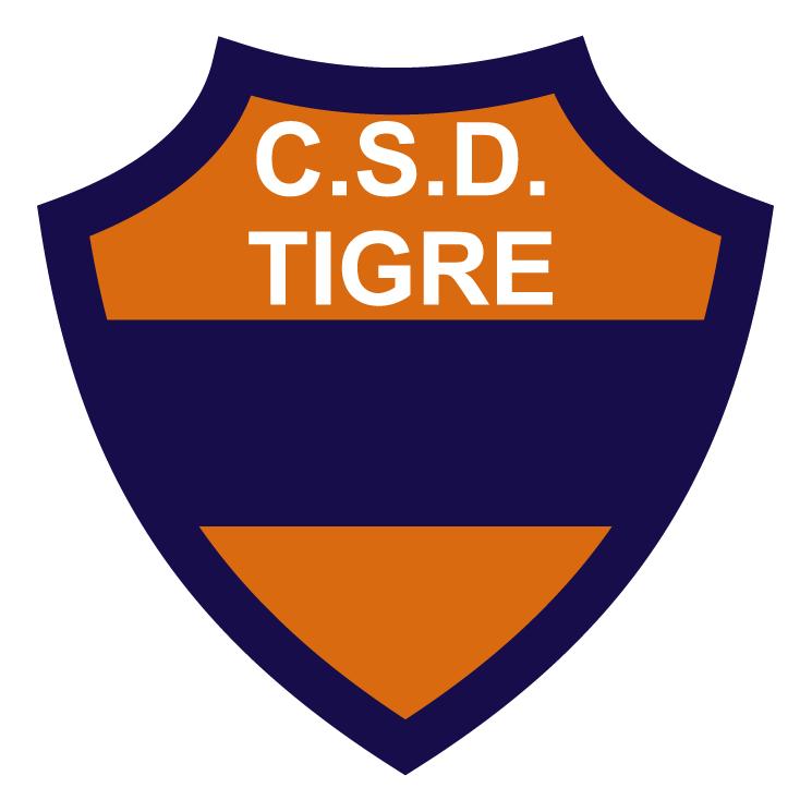 free vector Club social y deportivo tigre de gualeguaychu