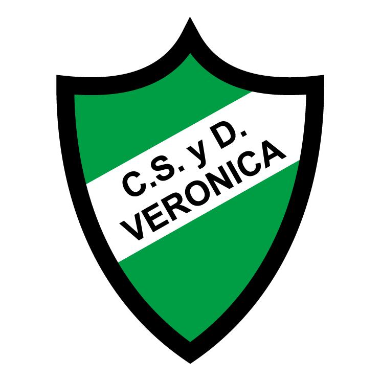 free vector Club social y deportivo veronica de veronica