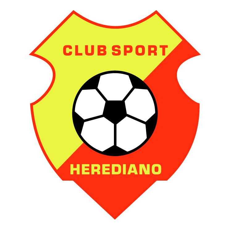 free vector Club sport herediano de heredia