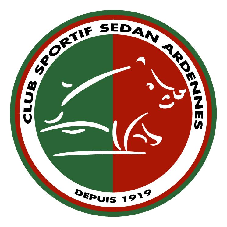 free vector Club sportif sedan ardennes