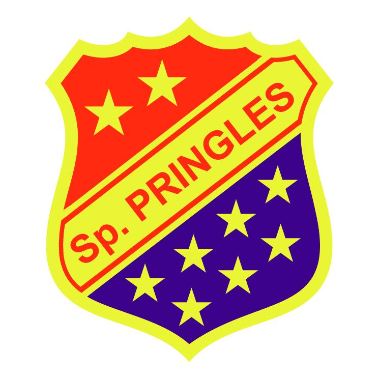 free vector Club sportivo pringles de villa mercedes