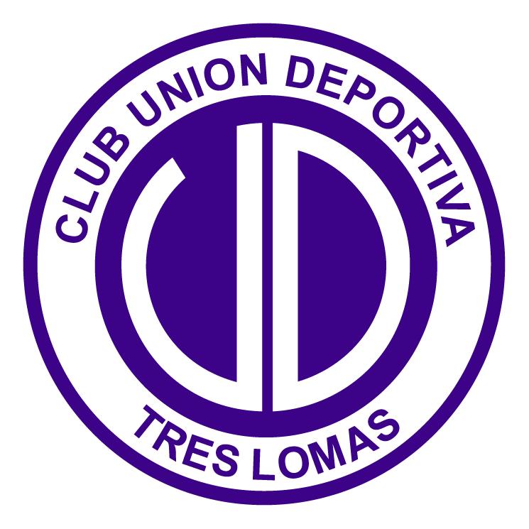 free vector Club union deportiva de tres lomas