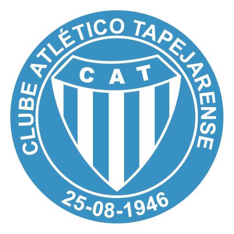free vector Clube atletico tapejarense de tapera rs