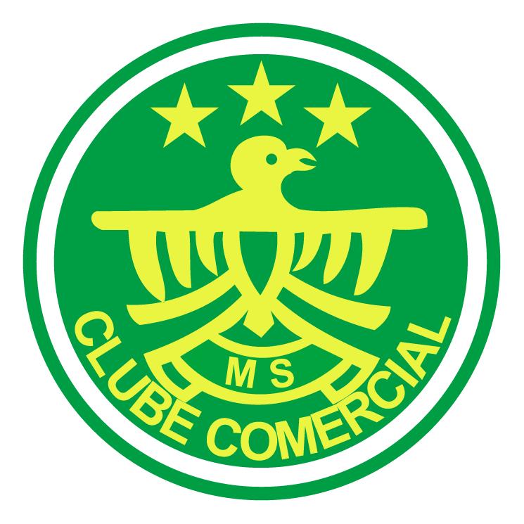 free vector Clube comercial de ponta pora ms