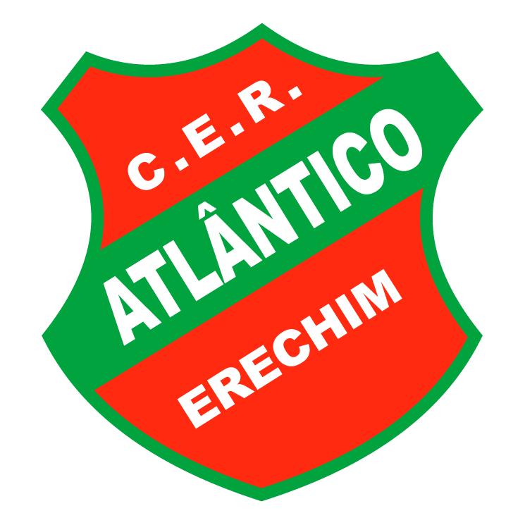 free vector Clube esportivo e recreativo atlantico de erechim rs