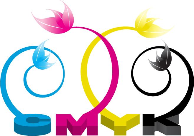 free vector Cmyk theme vector