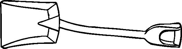 free vector Coal Shovel clip art