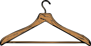 free vector Coat Hanger clip art
