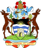 free vector Coat Of Arms Of Antigua And Barbuda clip art
