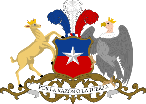 free vector Coat Of Arms Of Chile clip art