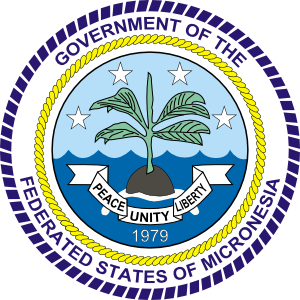 free vector Coat Of Arms Of The Federated States Of Micronesia clip art