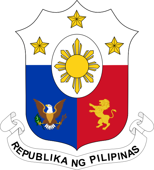 free vector Coat Of Arms Of The Philippines clip art