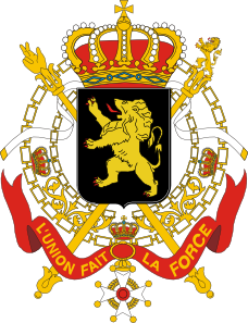 free vector Coats Of Arms Of Belgium Government clip art