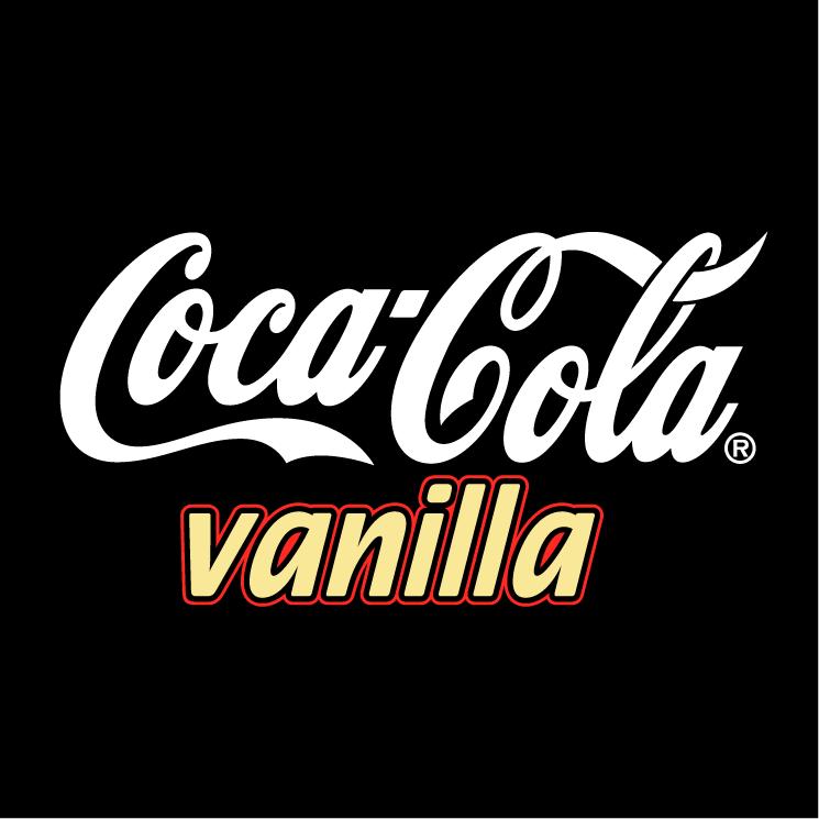 free vector Coca cola vanilla