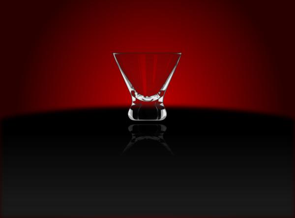 free vector Cocktail Glass Cosmopolitan clip art
