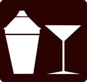 free vector Cocktail Icon Martini Icon clip art