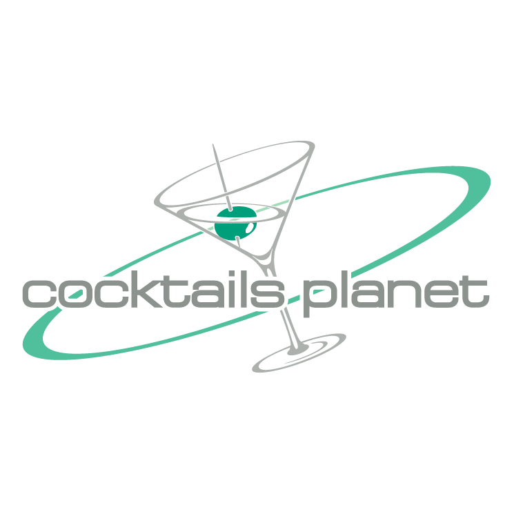 free vector Cocktails planet